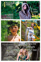 Collection of the Ischia 4 Seasons magazine