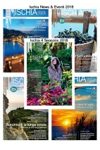 Subscription to the periodical publications Ischia 4 Seasons + Ischia News 2016