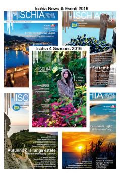 Abbonamento alla rivista Ischia 4 Seasons + Ischia News 2016